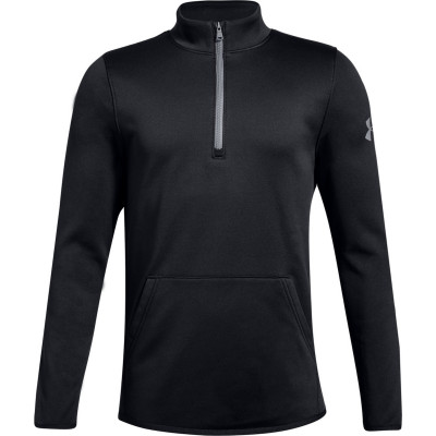 UA Boys Armour Fleece® Elevate ¼-Zip Black by Podium 4 Sport