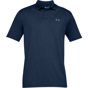 UA Men's Performance Polo Textured Navy by Podium 4 Sport