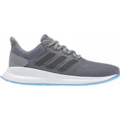 adidas Kids RunFalcon Grey by Podium 4 Sport