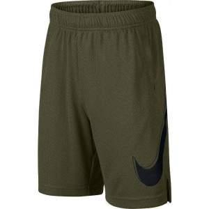 Nike Boys Dri-FIT Graphic Training Shorts Green by Podium 4 Sport