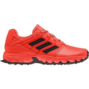Adidas Junior Hockey Shoe Red by Podium 4 Sport
