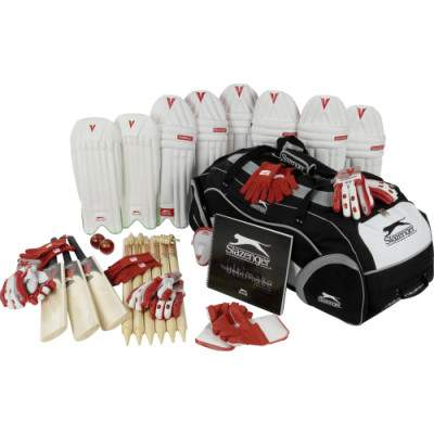 Slazenger Junior Cricket Pack by Podium 4 Sport
