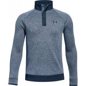UA Boys Storm SweaterFleece 1/2 Zip Snap by Podium 4 Sport