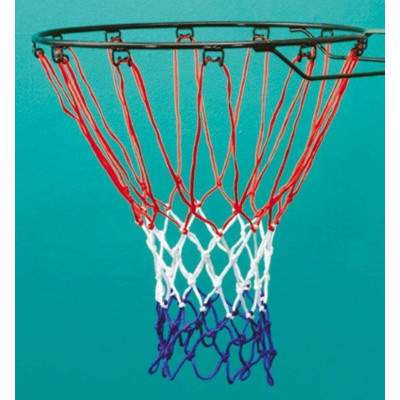Sureshot Red White And Blue Basketball Net by Podium 4 Sport