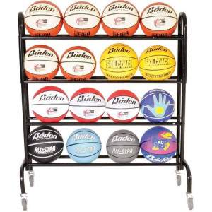 Baden 16 Ball Storage Trolley by Podium 4 Sport