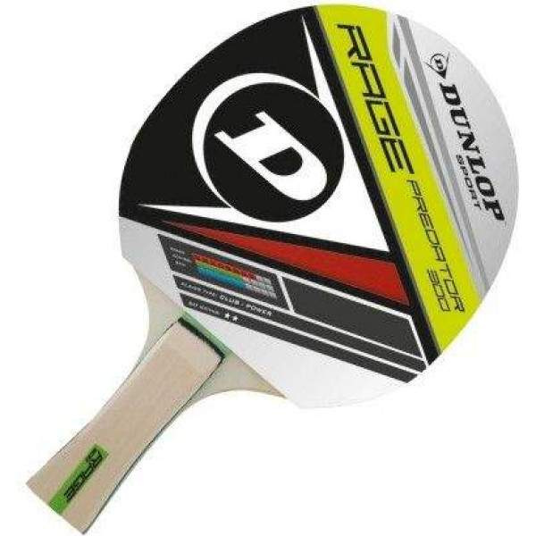 Dunlop Predator Table Tennis Bat by Podium 4 Sport