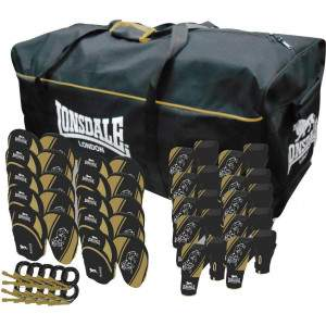 Lonsdale Club Pack Black/Gold by Podium 4 Sport