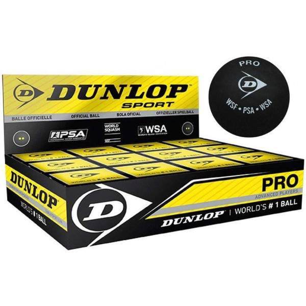 Dunlop Pro Squash Balls by Podium 4 Sport