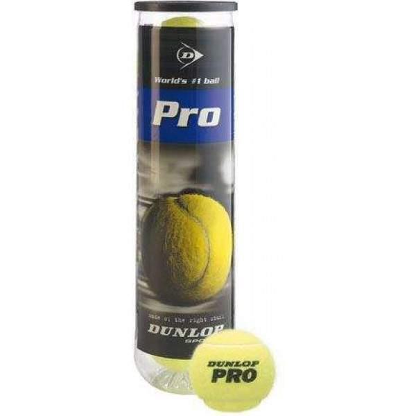 Dunlop Pro All Court Tennis Ball Pack by Podium 4 Sport
