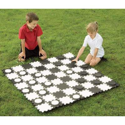 Maxi Draughts Pieces by Podium 4 Sport