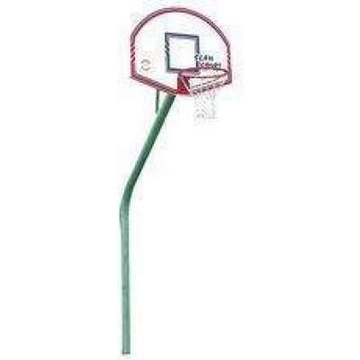 Sure Shot Slimline Goose Neck Basketball System-0