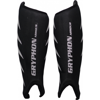 Gryphon Armour Shinguard Black by Podium 4 Sport