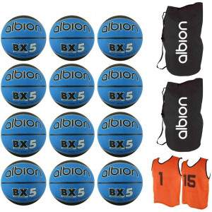 Albion Basketball Pack Size 5 by Podium 4 Sport