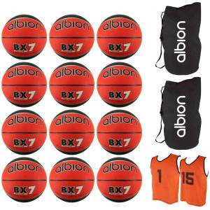 Albion Basketball Pack Size 7 by Podium 4 Sport