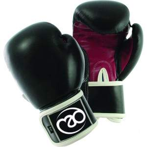 Fitness Mad Leather 8oz Sparring Gloves -0