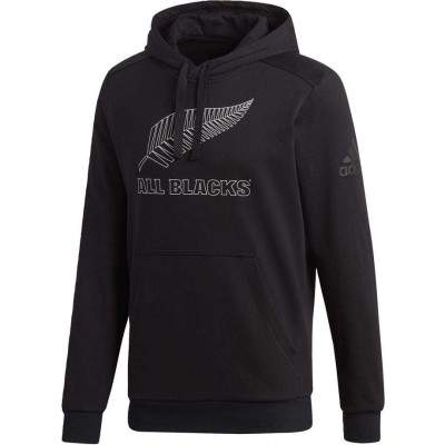 adidas Men's All Blacks Supporters Hoody by Podium 4 Sport
