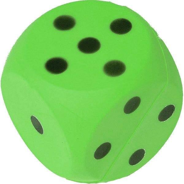 Foam Dice Green by Podium 4 Sport