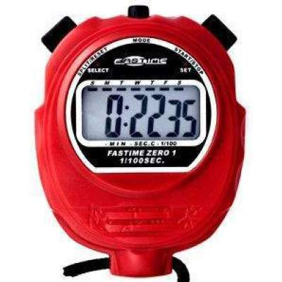 Fastime 01 Stopwatch Red by Podium 4 Sport