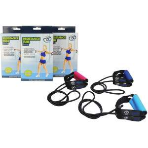 Fitness Mad Resistance Tube & Guide by Podium 4 Sport