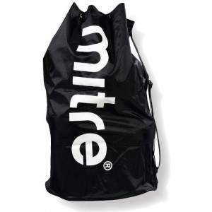 Mitre Black Solid 12 Ball Sack by Podium 4 Sport