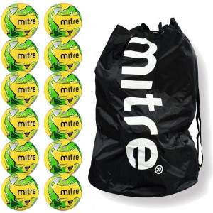 Bulk Buys Mitre Impel Size 4 with free carrier by Podium 4 Sport