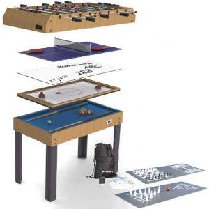 BCE 4 in 1 Games Table with 8 free Games by Podium 4 Sport