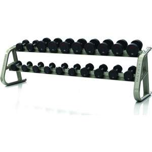 Matrix Aura 10-pair Dumbbell Rack by Podium 4 Sport