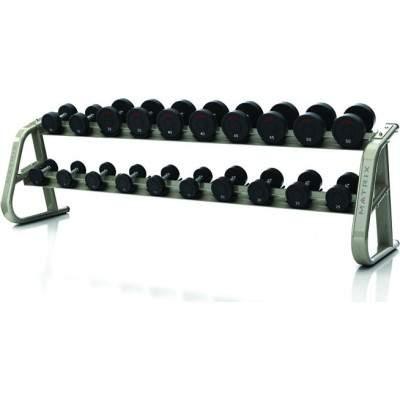 Matrix Aura 10-pair Dumbbell Rack by Podium 4 Sport