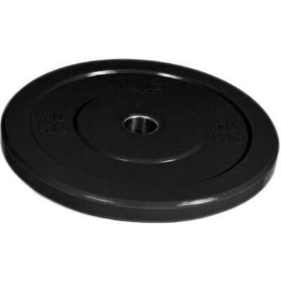 NXG 10kg Black Bumper Plate by Podium 4 Sport