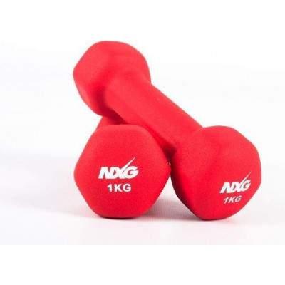 NXG Neoprene Dumbbell Pair 1kg by Podium 4 Sport