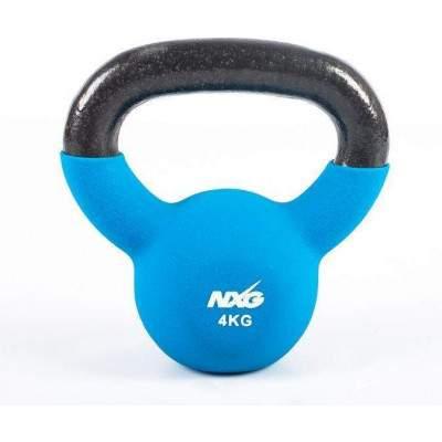 NXG Neoprene Kettlebell 4kg by Podium 4 Sport