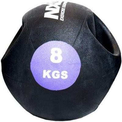 NXG Double Grip Medicine Ball 8kg by Podium 4 Sport