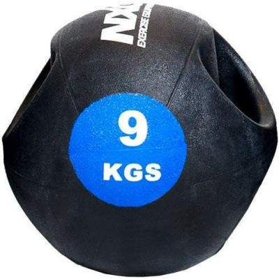 NXG Double Grip Medicine Ball 9kg by Podium 4 Sport