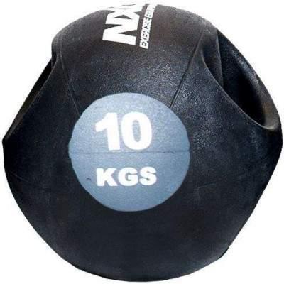 NXG Double Grip Medicine Ball 10kg by Podium 4 Sport