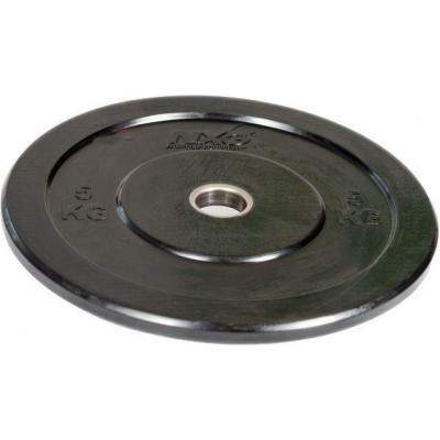 NXG Olympic Training Colour Rubber Disc (Round) 5kg by Podium 4 Sport