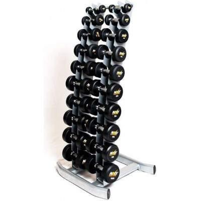 NXG Vertical Dumbbell Rack with Dumbbells (1-10kg)