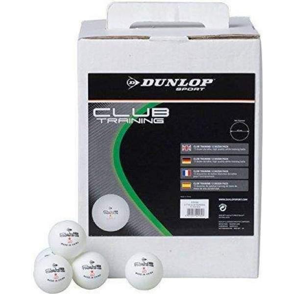 Dunlop Club Training Table Tennis Ball Pack by Podium 4 Sport