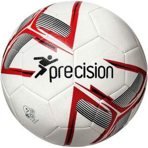 Precision Fusion Training Ball White/Red/Black Size 4 by Podium 4 Sport