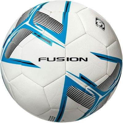 Precision Fusion Training Ball White/Cyan Blue/Black Size 3 by Podium 4 Sport