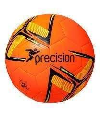 Precision Fusion Training Ball Fluo Orange/Black/Yellow Size 5 by Podium 4 Sport