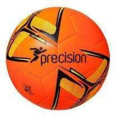 Precision Fusion Training Ball Fluo Orange/Black/Yellow Size 4 by Podium 4 Sport