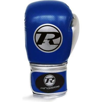 Ringside Pro Fitness Glove Blue/ Silver by Podium 4 Sport