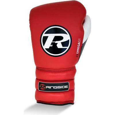 Ringside Omega G1 Lace Glove Red by Podium 4 Sport