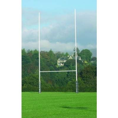 Harrod Socketed No.1 Steel Rugby Posts by Podium 4 Sport