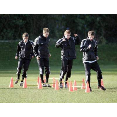 Precision Training Agility Hurdle Cone Set-0