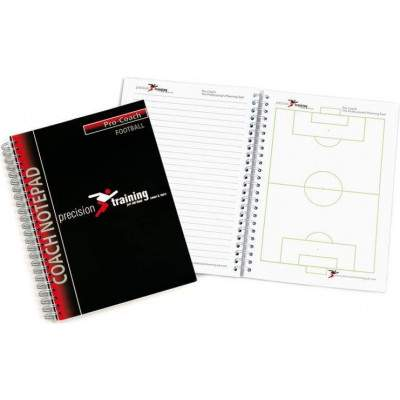 Precision Training A5 Football Pro-Coach Notepad-0
