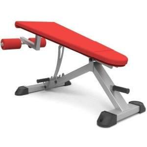 Indigo Fitness Adjustable Decline Bench by Podium 4 Sport