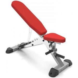 Indigo Fitness Adjustable Incline/Decline Bench by Podium 4 Sport