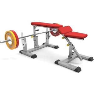 Indigo Fitness Adjustable Prone Row Bench