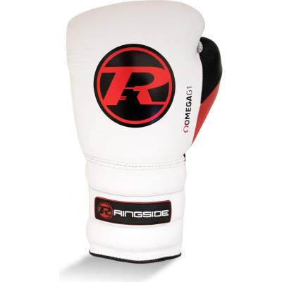 Ringside Omega G1 Lace Glove White by Podium 4 Sport